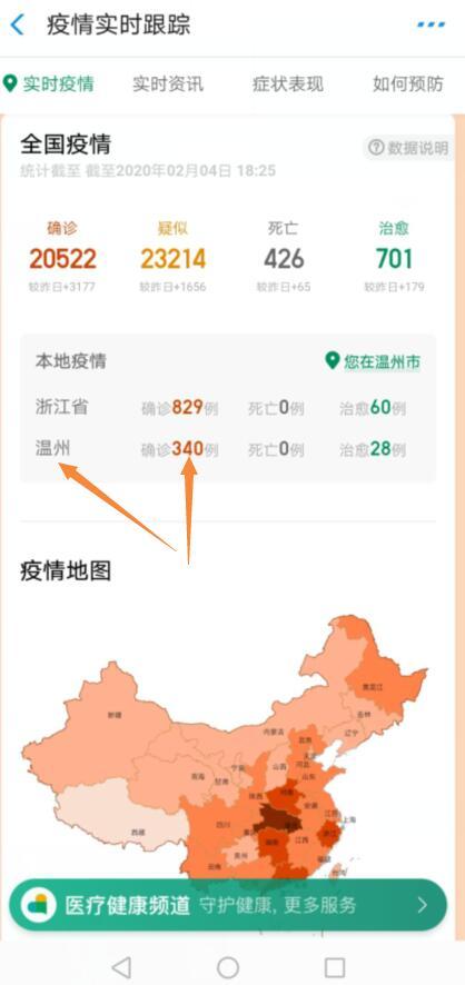 2020年2月4日温州新型冠状肺炎病毒疫情感染又加重了,现已超过340人